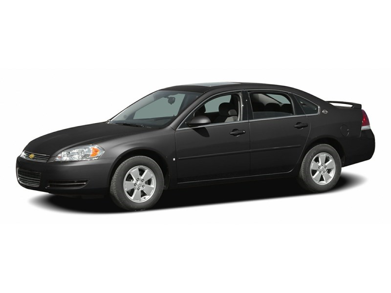 "2007 Chevrolet Impala 2007CHEVROLET IMPALA ""SOLD AS IS"" Black  Shot 2"