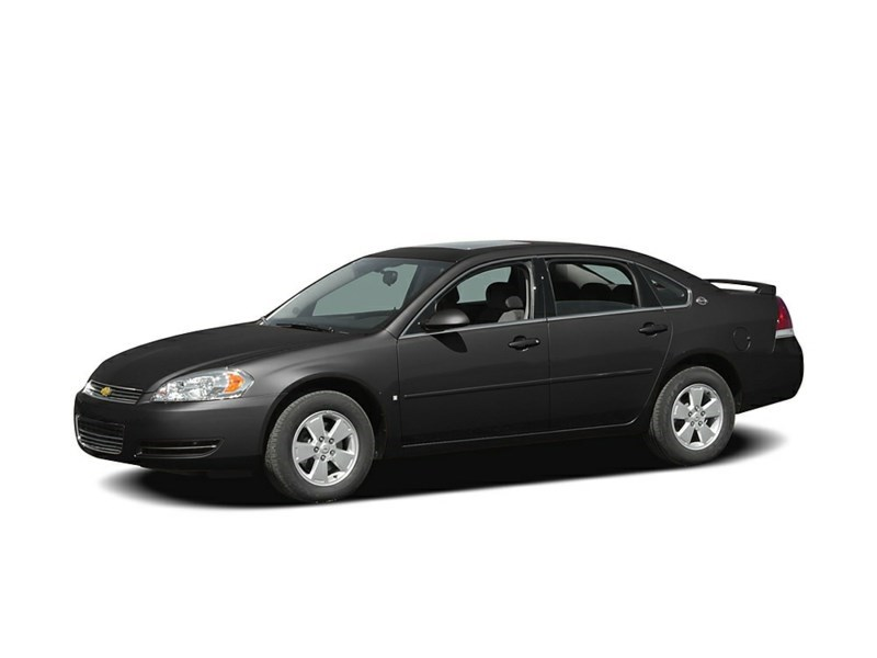 "2007 Chevrolet Impala 2007CHEVROLET IMPALA ""SOLD AS IS"" Black  Shot 1"