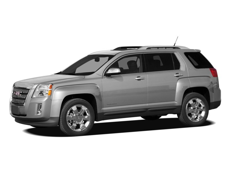 2011 GMC Terrain SLE-1 Quick Silver Metallic  Shot 4