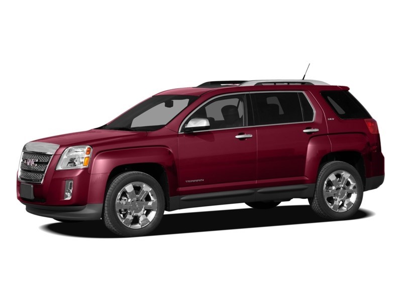 2011 GMC Terrain SLE-1 Merlot Jewel Metallic  Shot 16