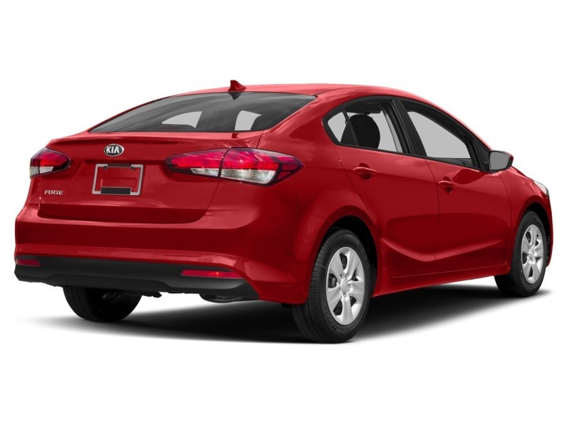 2018 Kia Forte LX Radiant Red Metallic  Shot 11
